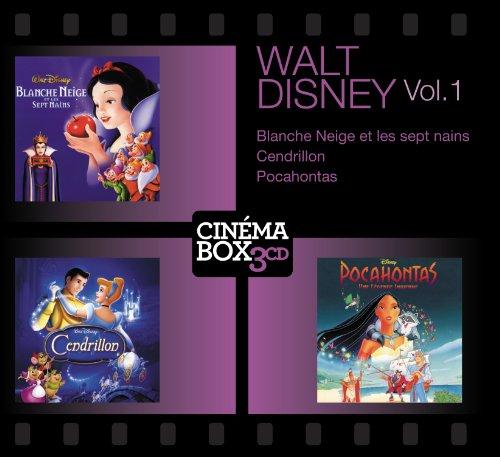 Blanche Neige et les 7 nains - Cendrillon - Pocahontas