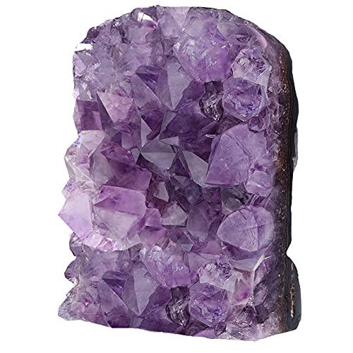 Nupuyai Amatista druse grande de cristal en bruto para decoración, amatista natural,...