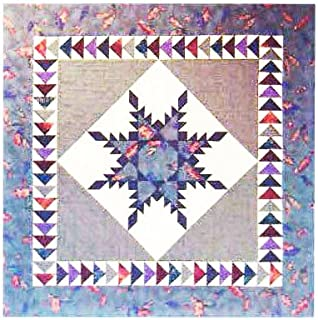 """Feathered Star Quilt - Foundation Paper Piecing Pattern - 35"""" x 35"""" Quilt"""