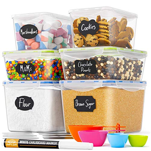 Chef's Path Food Storage Containers - Pantry Organization