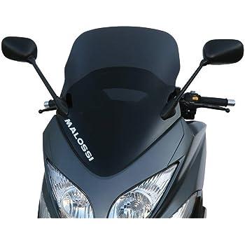 - Noir Brillant pour Yamaha T-Max 500/ Kappa KD442B Pare-Brise Bas et Sportif 59/x 45/cm H x l 2008/ 2011