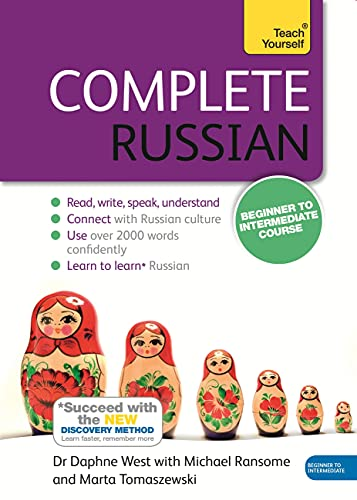 Compare Textbook Prices for Complete Russian Beginner to Intermediate Course: Learn to read, write, speak and understand a new language Teach Yourself 4 Edition ISBN 9781473602519 by West, Dr. Daphne