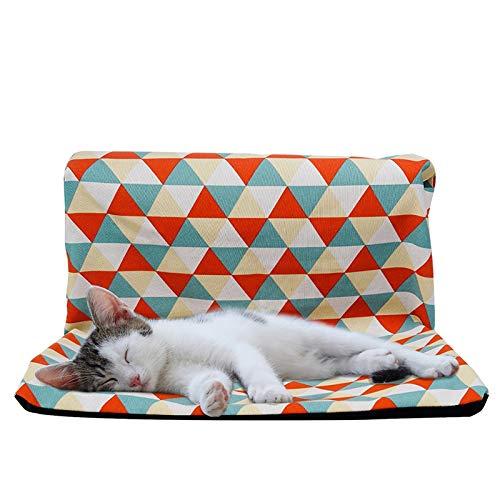JLFAIRY Hamaca para Gatos Radiador para Mascotas Ventana Sofá Camas Colgantes Enfriamiento Cojines para Gatito Hurón Cachorro Casa De Gato