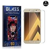 SONWO Verre Trempé Compatible avec Galaxy A3 2017, Vitre Verre Trempé Protection écran Protecteur d'écran pour Samsung Galaxy...