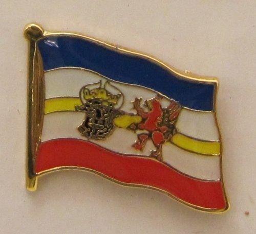 Pin Anstecker Flagge Fahne Mecklenburg Vorpommern Meckpom Landesflagge Flaggenpin Badge Button Flaggen Clip Anstecknadel