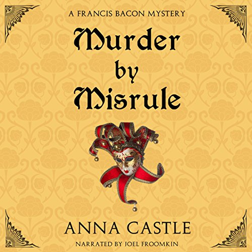 Murder by Misrule audiobook cover art