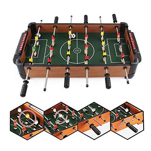 Foosballs Table Soccer Tafelspelen Eenvoudig Monteren Houten Indoor Tafel Foozball Set Voor Game Room/Bars/Partijen/Family Night