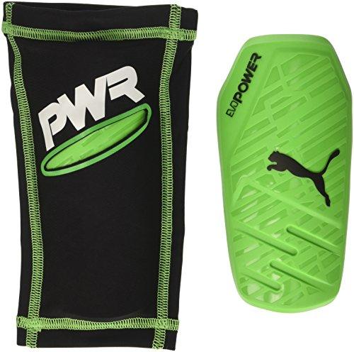 PUMA Erwachsene EvoPower 1.3 Slip Schienbeinschoner, Green Gecko/Black/White, L