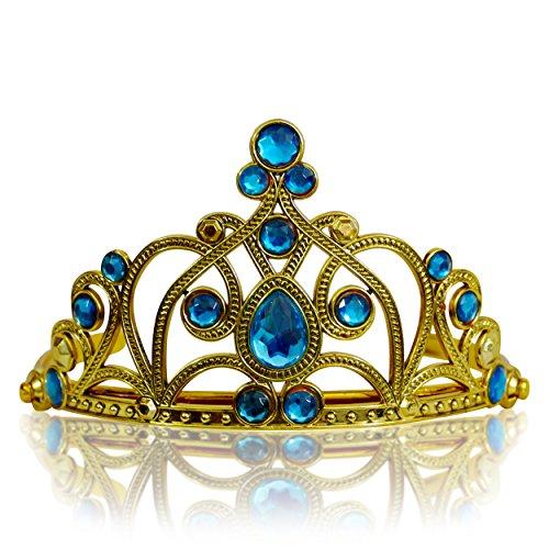 Katara 1682 - Diadema de Princesa Accesorio de Disfraz Corona de Cuentos...
