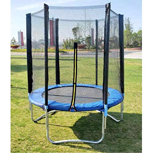 CPone-my High Bounce Trampoline With Shell Safety Net, Home Indoor Bounce Bed, Children and Adults Outdoor Children's Trampoline Fitness Jumping 6FT