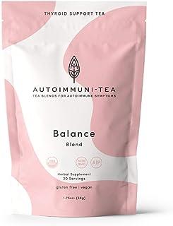 AIP Diet Herbal Tea - Thyroid Support Tea Blend for Autoimmune Protocol, AIP, Whole 30, Paleo friendly - 100% Organic Glut...