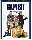Gambit (2012) Poster, Colin Firth, Cameron Diaz, Alan