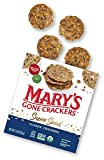 Mary's Gone Crackers Super Seed Crackers, Organic Plant Based Protein, Gluten Free, Classic, 5.5 Ounce (Pack of 6)