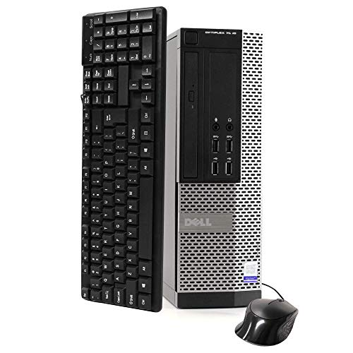 Dell Optiplex 7020 Desktop Computer, Intel Quad-Core i5-4570-3.2GHz, 8GB RAM, 512GB SSD HDD, DVD, USB 3.0, WiFi, HDMI, Windows 10 Pro (Renewed)