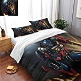 Bed Sheets Set Optimus Prime Transformers Bed Sheets and Comforter Set Bedding 3 Piece Duvet Cover Set Twin