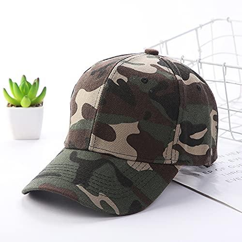 Gorra Camuflaje ajustable largo beansbol gorra de béisbol primavera verano sombra al aire libre hombres mujeres impresión papá sombrero pico gorra Sombreros y gorras ( Color : 01 , Size : Adjustable )