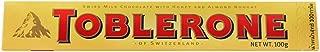Toblerone Barrette al Cioccolato Svizzero con Miele e Mandorla - Pacco da 100 gr.
