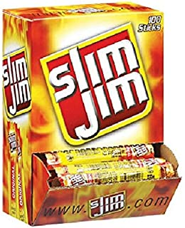 Slim Jim Smoked Snacks - 120 ct.-.28oz (2 Pack)