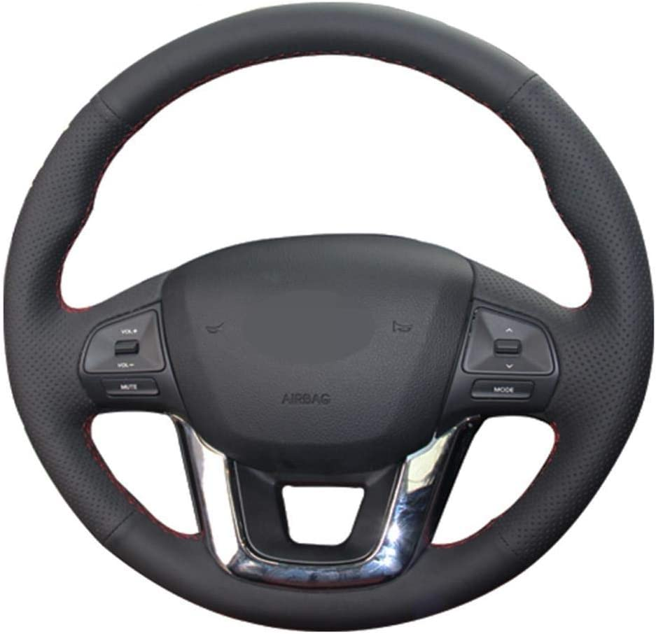 MDHANBK Car Steering Wheel Cover Black 1 year warranty Ranking TOP7 DIY Hand-Stitched Leather