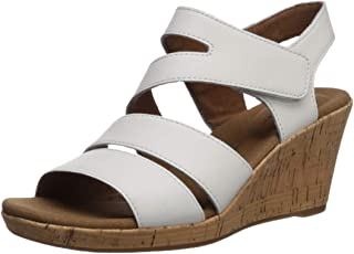 Rockport Women's Briah Asym Wedge Sandal