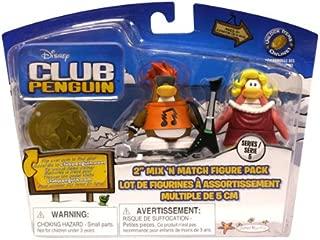Club Penguin Figures - Series 5 - Rockstar & The Ruby Girl by Disney