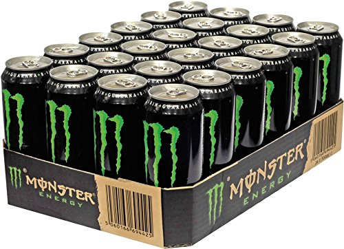 Monster Energy, 24er Pack, Einweg (24 x 500 ml)