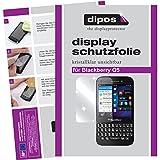 dipos I 2x Schutzfolie klar passend für Blackberry Q5 Folie Bildschirmschutzfolie