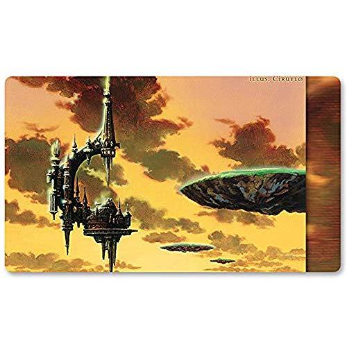 Alfombrilla de ratón Serra 'S Sanctum - Juego de Mesa MTG Playmat Table Mat Juegos de Alfombrilla Mousepad Play Mat para TCG Magic The Gathering 30X80CM