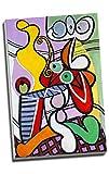 Pablo Picasso - Lienzo decorativo para pared, tamaño A1, 76,2 x 50,8 cm