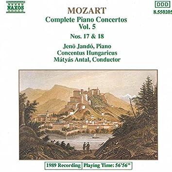 Mozart: Piano Concertos Nos. 17 and 18