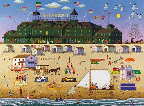 Buffalo Games Charles Wysocki The Nantucket 1000 Piece Jigsaw Puzzle product image