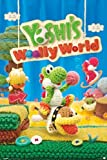 Yoshis Woolly World Nintendo Wii U Side Scrolling Platformer Video Game Cover Box Art Laminated Dry Erase Sign Poster 24x36