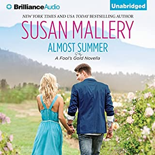 Almost Summer audiobook cover art