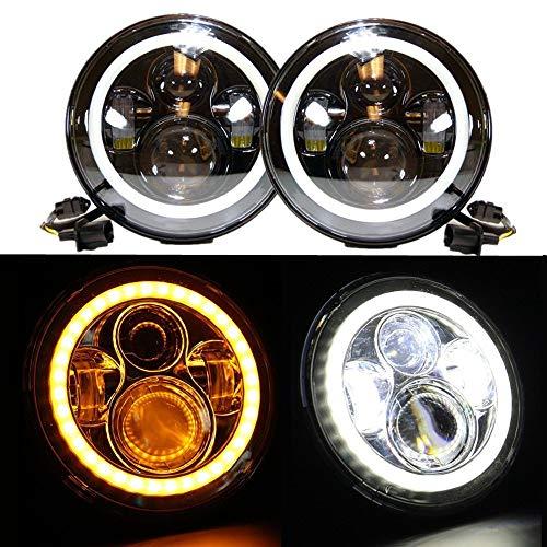 Phares LED 17.8cm Projecteurs ronds 7\