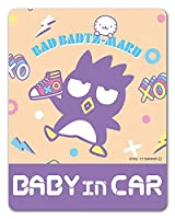 バッドばつ丸 車マグネットステッカー【BABY IN CAR】