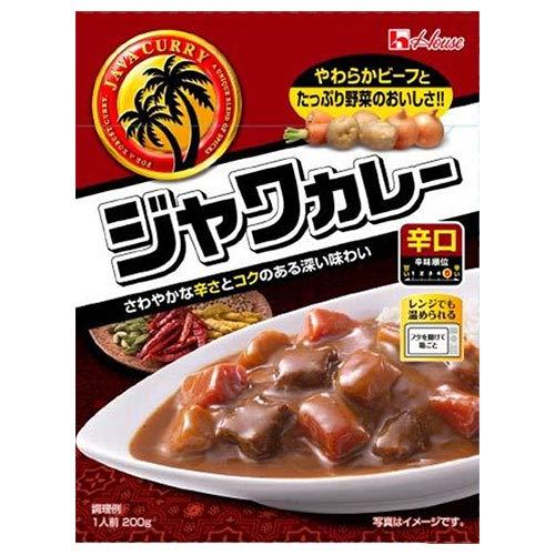 ハウス食品 レトルト ジャワカレー 辛口 200g×30個入×(2ケース)
