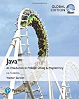 Java: An Introduction to Problem Solving and Programming, Global Edition, 8th Edition Front Cover