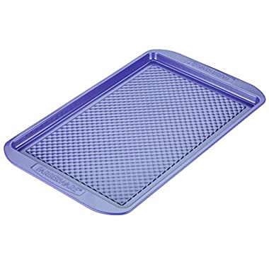 Farberware purECOok Hybrid Ceramic Nonstick Bakeware Baking Sheet & Cookie Pan, 11-Inch x 17-Inch, Lavender