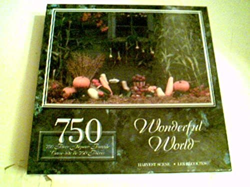 Wonderful World 750 Piece Puzzle 23.5 X 13.5 - Harvest Scene by Sure-Lox