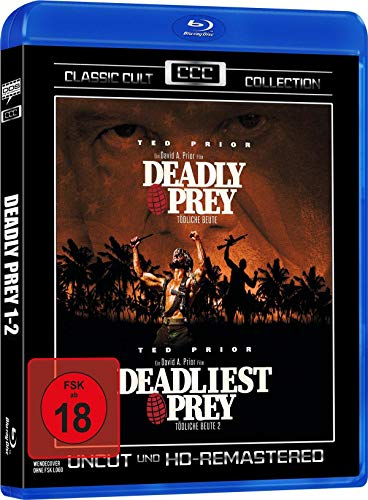 Deadly Prey 1-2 - Classic Cult Collection - Uncut (HD Remastered) [Blu-ray]