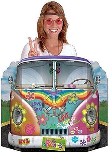 comprar nuevo barato Hippie Bus Bus Bus Photo Prop by Beistle  ahorre 60% de descuento