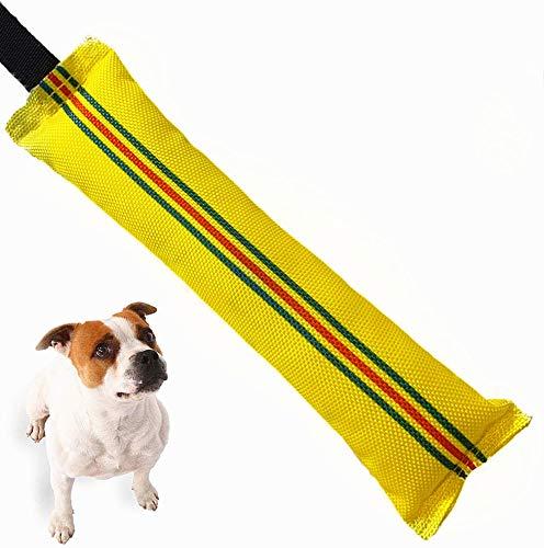 OMZGXGOD Mordedura de Perro Duradera Indestructible Juguete, Juguete de Perro Robusto para Entrenamiento K9, Juguete para Adiestramiento de Perros, con Una Correa para la Muñeca