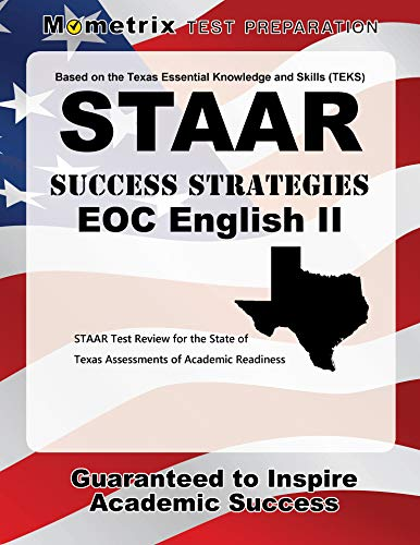 Staar Success Strategies Eoc English Ii Study Guide Staar Test Review For The State Of Texas Assessments Of Academic Readiness