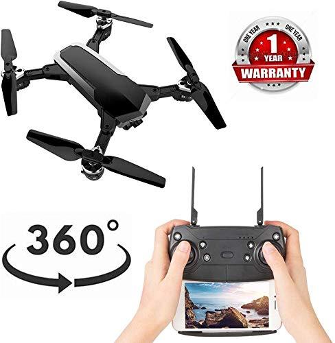 Caméra GPS HD, 4 axes Gyro RC, Vidéo en direct 360 ° affiche une longue distance contrôle, Mosans tête longue portée, GPS en direct HD, Caméra HD à 2,4 GHz, Vidéo en direct, Quadricoptère, Noir