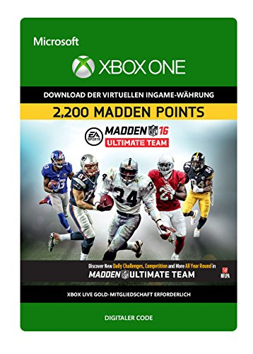 Madden NFL 16 2.200 Points [Xbox One - Download Code]