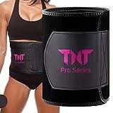 TNT Pro Series Waist Trimmer Belt for Men & Women Pink