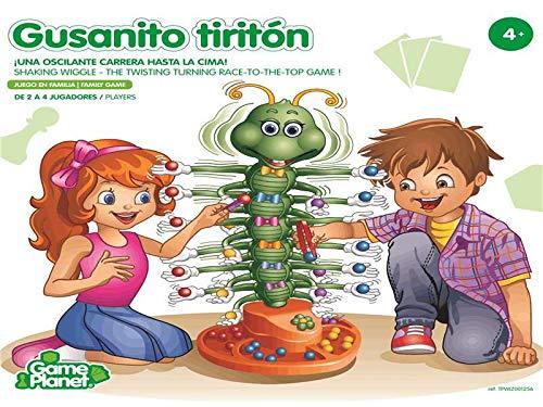 Game Planet Gusanito Tiritón