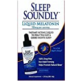 Windmill Sleep Soundly, Liquid Melatonin, 10mg, 2 oz (Pack of 2)
