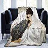 Death Note L Soft and Comfortable Blankets,Ultra-Soft Micro Fleece Blanket,for Bed Or Sofa,All Season Quality Blankets
