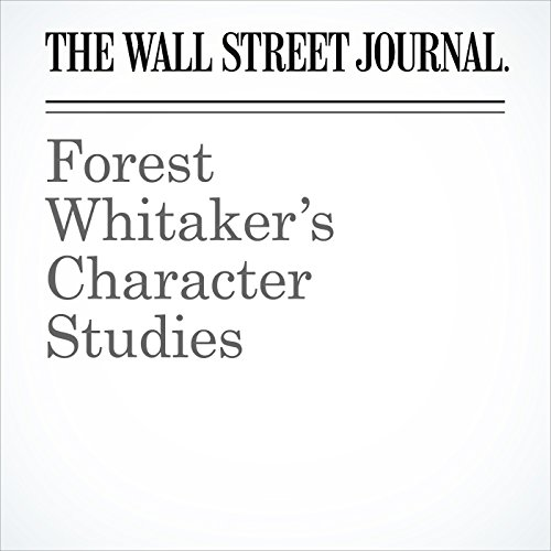 Forest Whitaker's Character Studies audiobook cover art